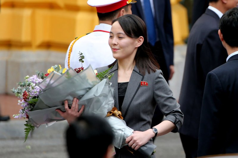 Kim Yo Jong Saudari Pejabat Kantor 39 Korea Utara