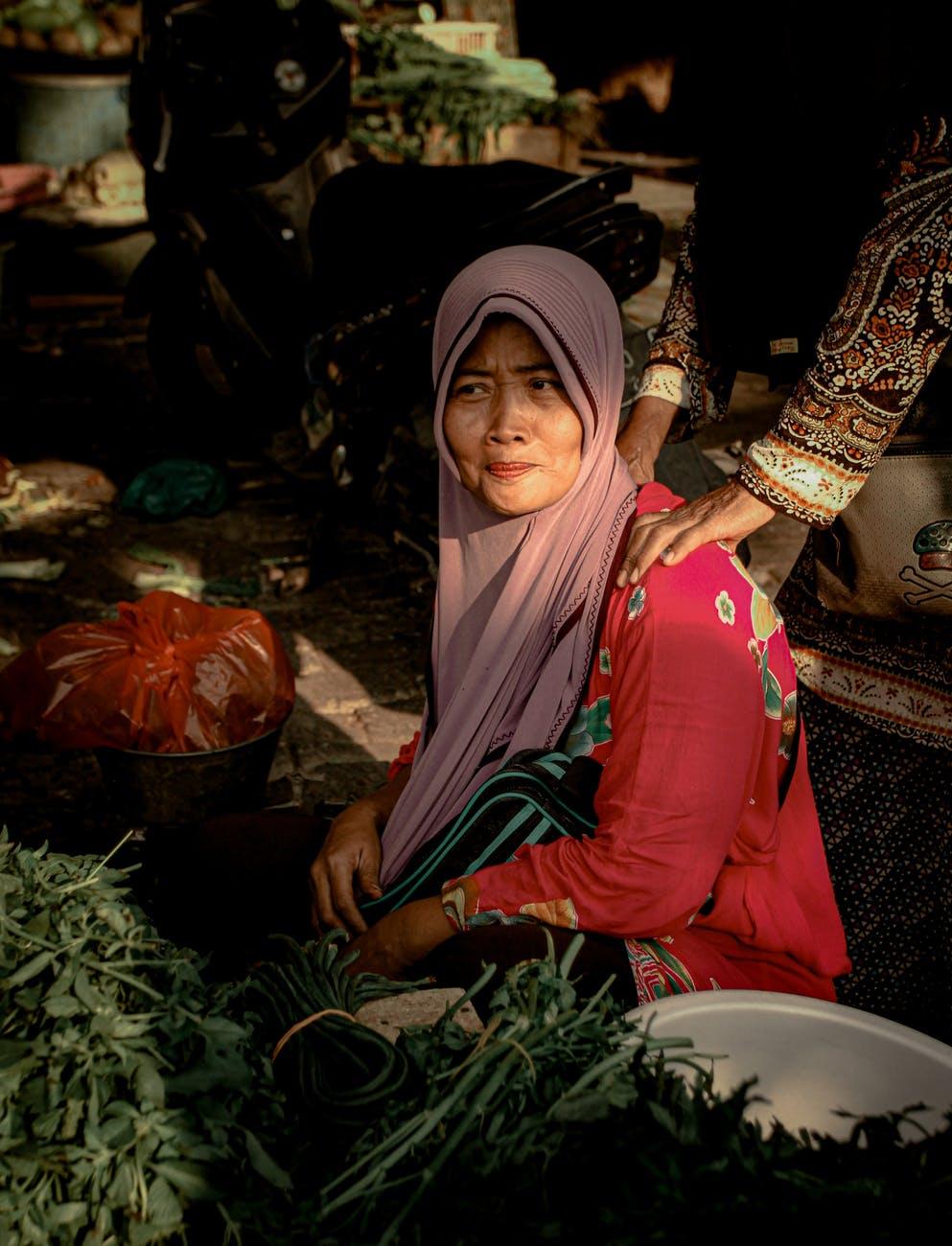 Pasar Tradisional Indonesia Membawa Risiko Tinggi Penularan Virus Corona