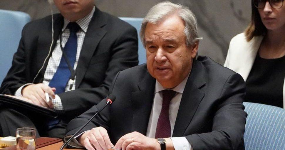Antonio Guterres Kesetaraan Global