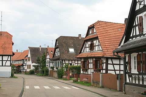 Hunspach Desa Terbaik di Prancis Timur
