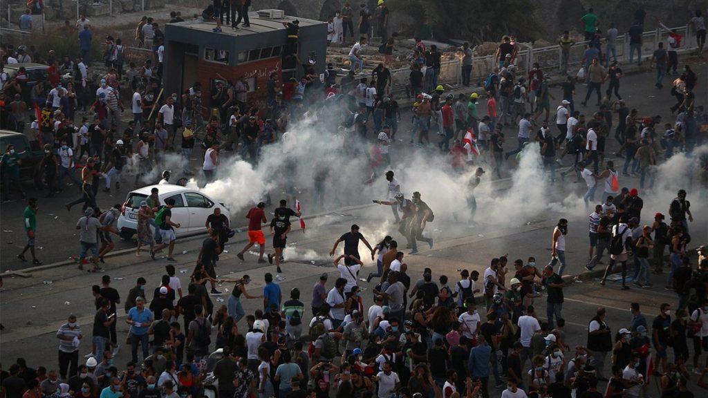 Polisi Beirut Tewas, Polisi Beirut Tewas Dalam Bentrokan Demo Antipemerintah, Pojok Jakarta , Pojok Jakarta