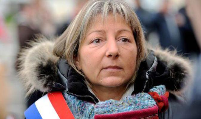 Walikota Calais PerancisMayor Natacha Bouchart