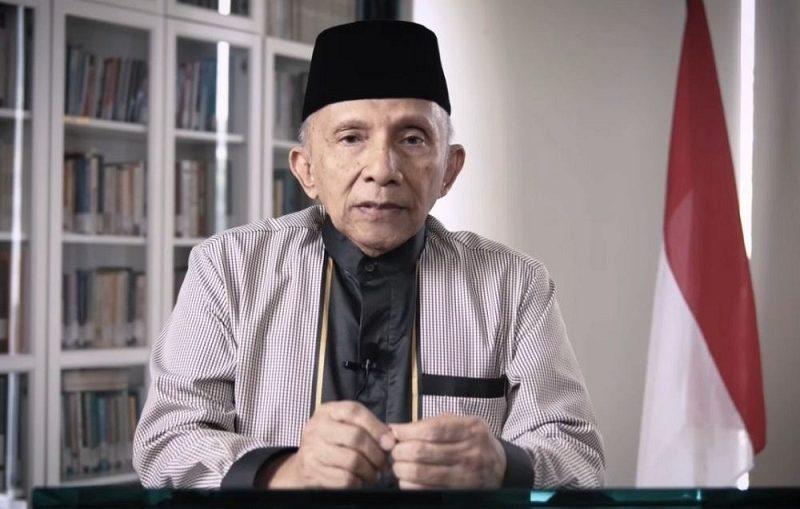 Amien Rais Bela Habib Rizieq Adakah Maksud Politik Peruntungan 2024