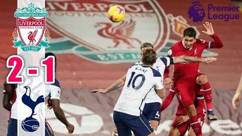 Hasil Liverpool Vs Tottenham Skor 2 1 Lewat Tandukan Firmino