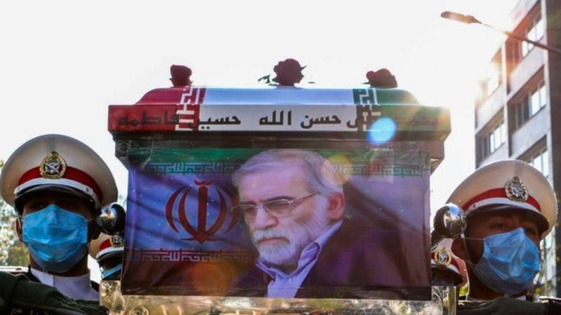 Iran Menuduh Israel bunuh ilmuwan nuklir Mohsen Fakhrizadeh