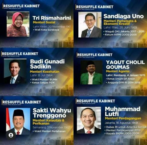 Jokowi Melantik 6 Menteri Baru Apa Visi Misi Risma dan Sandi Uno