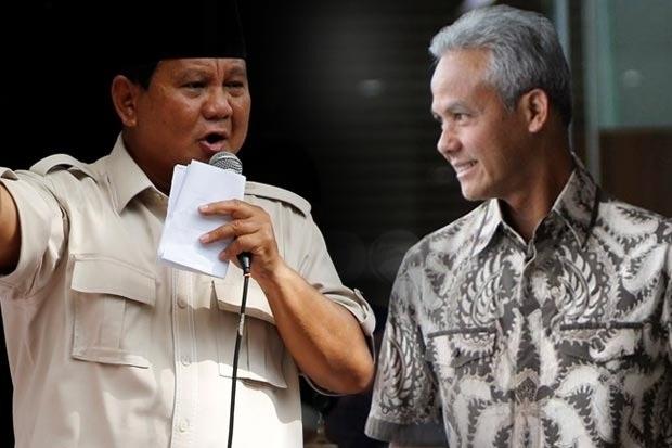 Peluang Prabowo di Pilpres 2024 Makin Tipis Disalip Ganjar