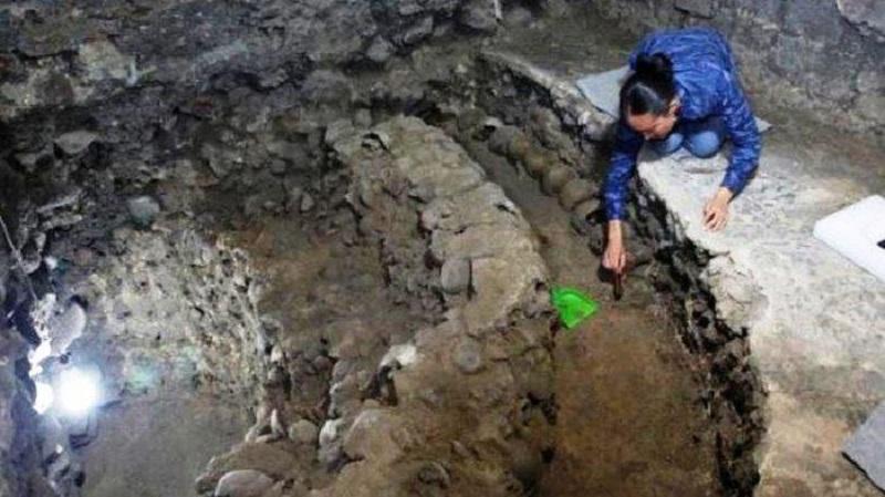 Temuan Menara Tengkorak Berusia Ratusan Tahun di Mexico