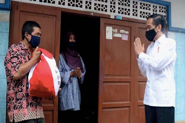 Skema Penyaluran Bansos yang dilakukan Oleh Joko Widodo