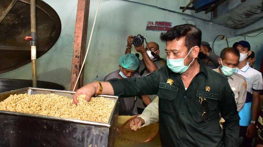 Menteri Pertanian Jamin Pasokan Kedelai Indonesia Aman Sekarang