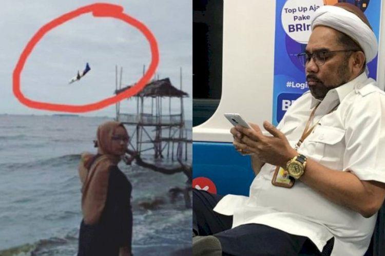 Ngabalin Pasang Foto Pesawat Jatuh Editan Terancam Dipolisikan