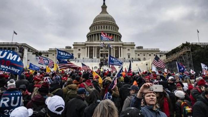 Pemimpin Dunia Mengecam Keras Aksi Massa Pro Trump
