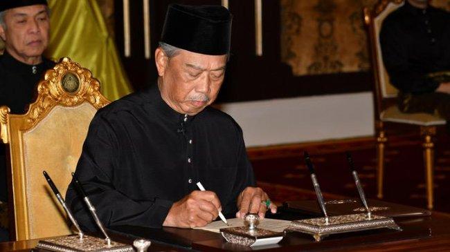 Pengumuman Darurat Nasional Menyelamatkan Kursi PM Muhyiddin