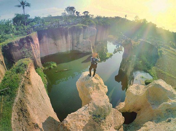 Tebing Gricil Tempat Wisata Baru di Katulampa Bogor