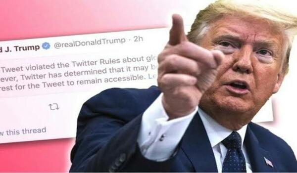 Twitter Kunci Akun Trump Karena Jadi Biang Kerok Kerusuhan