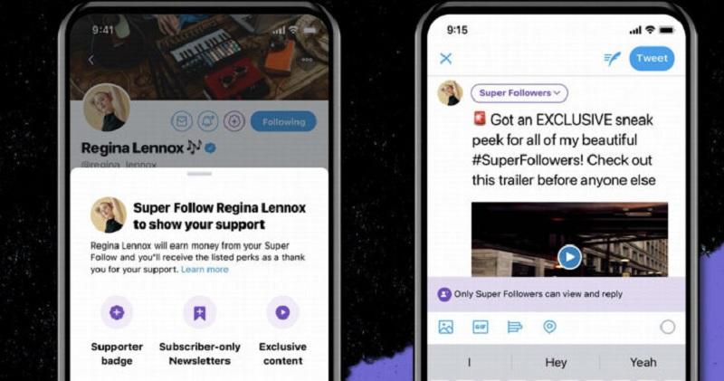 Fitur Super Follow dari Twitter Bisa Hasilkan Cuan Bagi Penggunanya