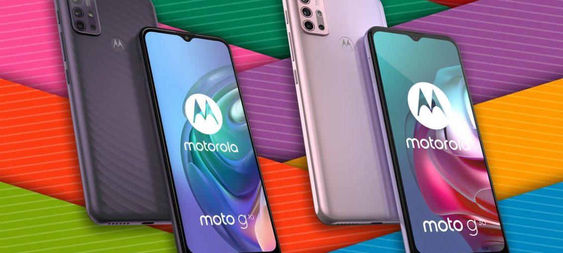 Motorola Moto G30 dan Moto G10 Andalkan Baterai 5.000mAh dan ROM Besar