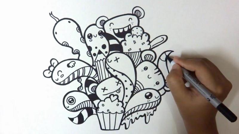 manfaat doodling untuk kesehatan mental anak anak