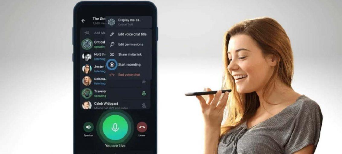 Fitur Telegram Voice Chat 2.0 Hadir dengan Keunggulan yang Menarik