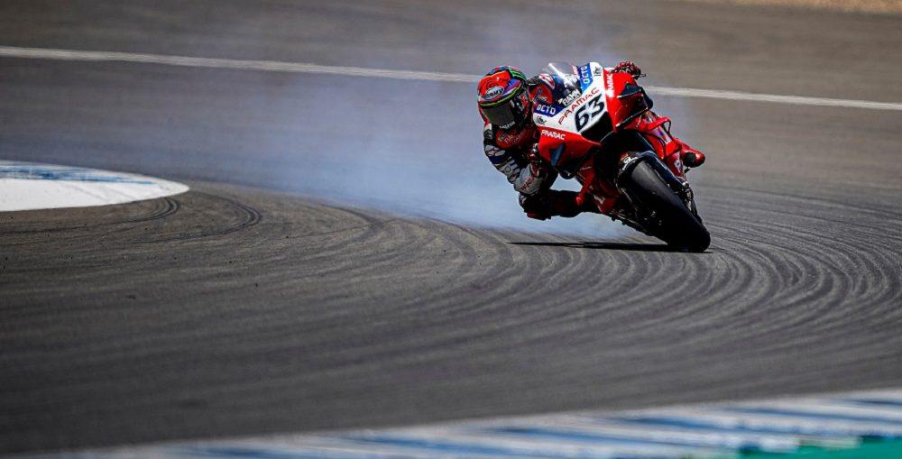 Bagnaia Incar Podium MotoGP Doha