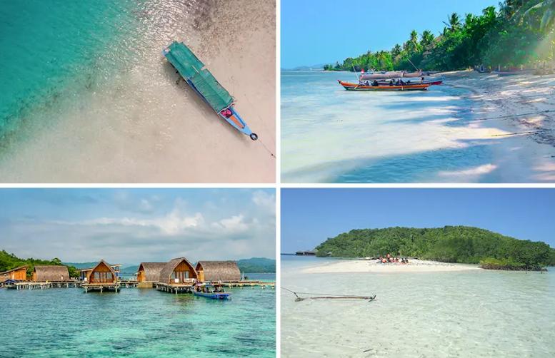 Keindahan Pulau Pahawang di Bandar Lampung Membuat Wisatawan Terpana