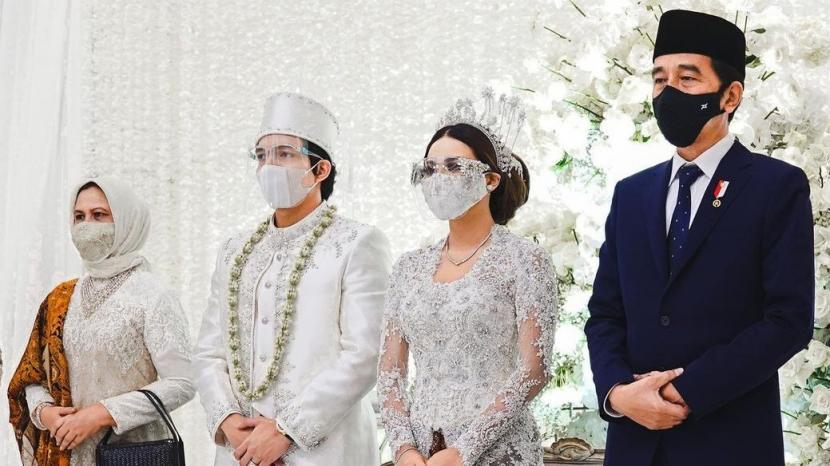 Kicauan Netizen Hadirnya Presiden di Pernikahan Atta Aurel