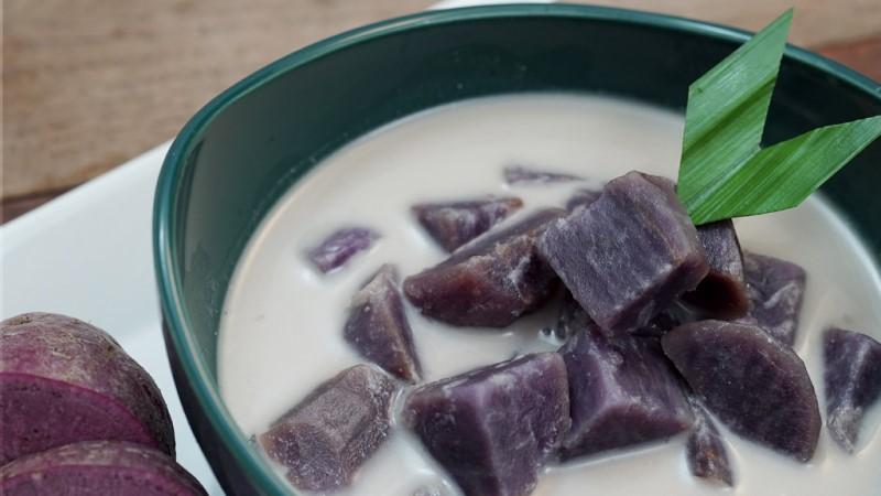 Kolak Ubi Ungu Makanan Khas Bulan Ramadhan yang Banyak Digemari