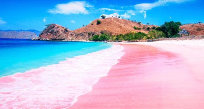 Menyibak Keindahan Pantai Pulau Merah di Banyuwangi