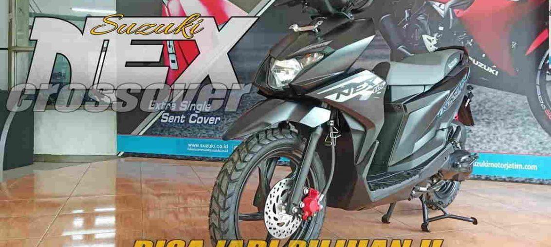 Spesifikasi Suzuki Nex Crossover Skutik Petualangan yang Futuristik