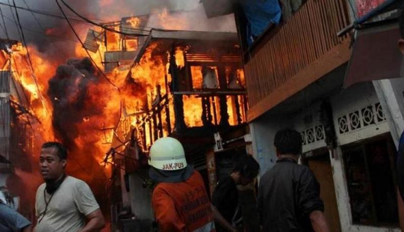 Tanah Abang Kebakaran Kobaran Api Besar Kerugian Mencapai Milyaran
