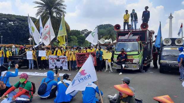 97 Orang Ditangkap Saat Demo Hari Buruh Esensi Hari Buruh Kurang Dipahami
