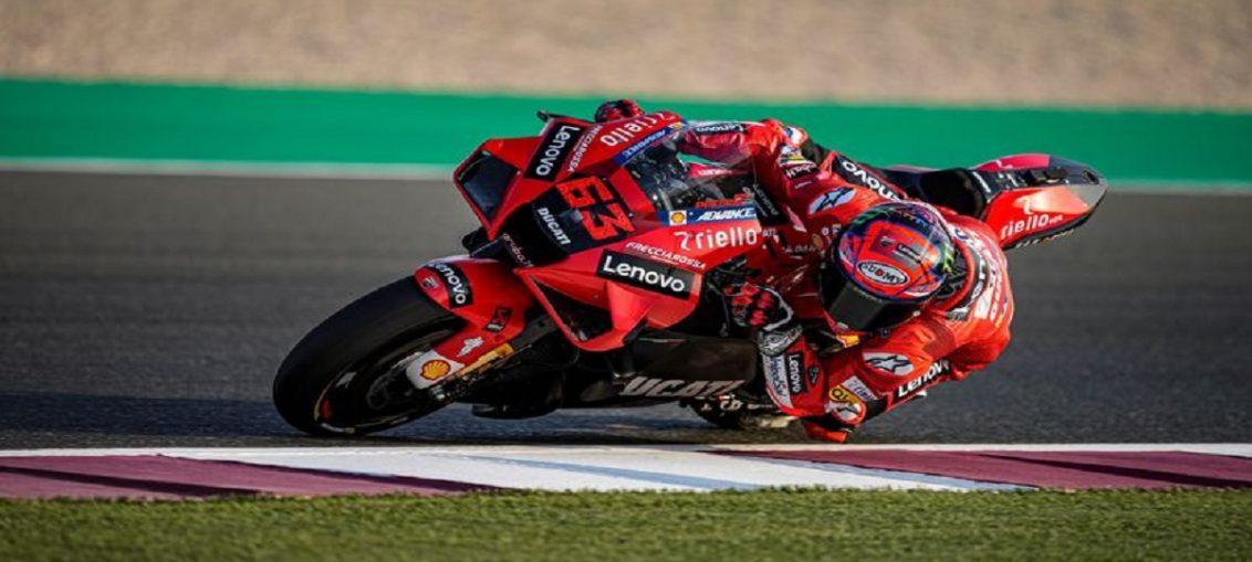 Hasil Free Practice 2 MotoGP Spanyol Francesco Bagnaia Peringkat 1