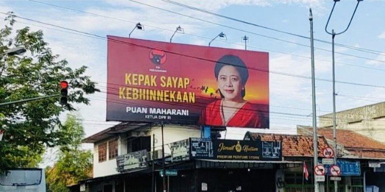 Baliho Puan Maharani