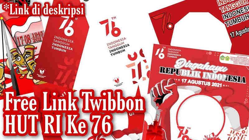 Twibbon HUT RI Ke 76