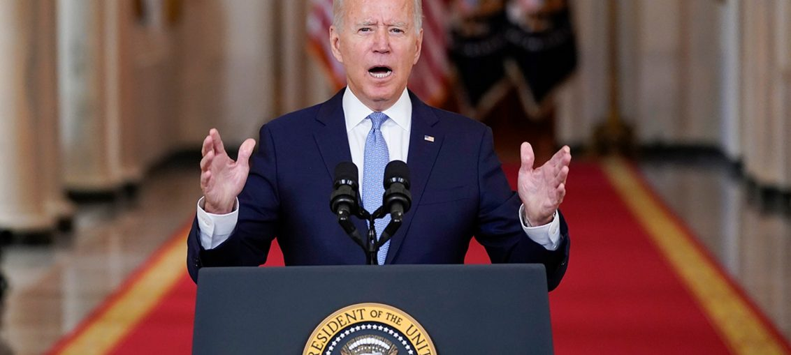 Pidato Biden Terkait Afghanistan di Gedung putih