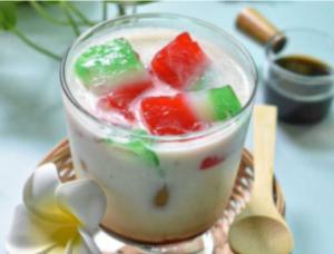 Resep Minuman Tradisional Bersantan Selendang Mayang