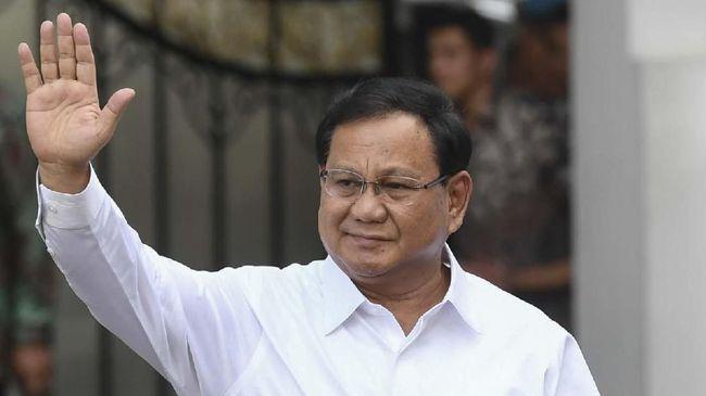 Elektabilitas Prabowo Tetap Unggul