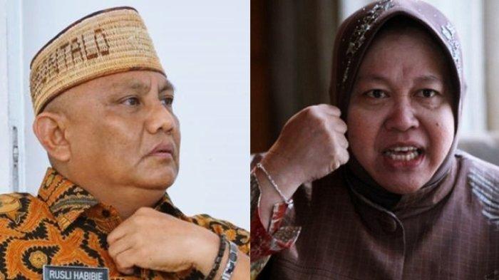Risma Marah marah ke Warga Gorontalo